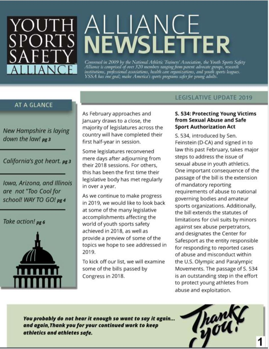 Resources | Youth Sports Safety Alliance